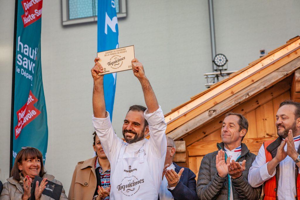 vainqueur concours de fondue